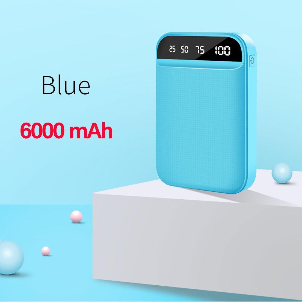 6000mAh Blue