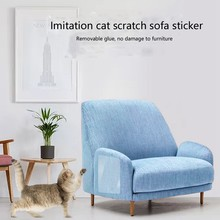 2PCS Pet Furnitur Anti-wall Cat Scratch Transparent Environmental Protection Sofa Protection Such As Scratch for Cat Furniture