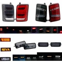 Cho Lada Niva 4X4 1995 LED DRL Đèn Chạy Nhan Chức Năng Phụ Kiện Xe Kiểu Dáng Chỉnh Ánh Sáng Bảo Vệ Có
