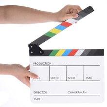 Камера andoer аксессуары акриловая доска Хлопушки доска сланец для кино сцена действия