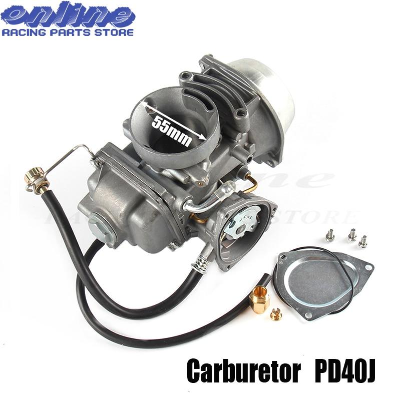 Карбюратор карбюратор 40 мм PD40J для Polaris Sportsman 500 4x4 2001-2013 Универсальный другой 400cc до 600cc гоночный мотор ATV