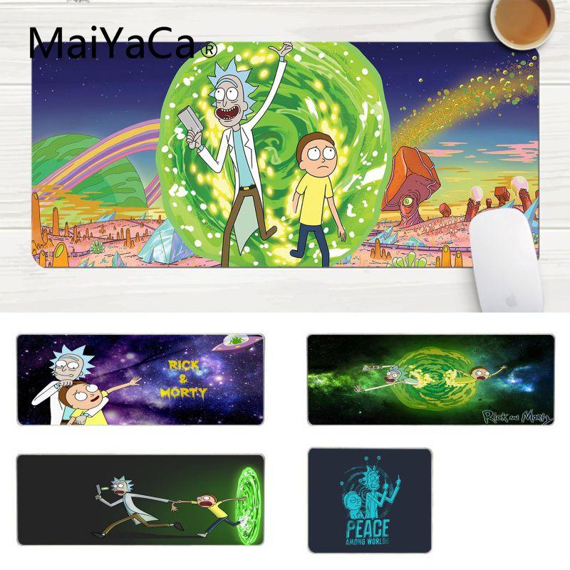 MaiYaCa New Design Rick And Morty High Speed New Mousepad Laptop Gaming Lockedge Mice Mousepad Gaming Mouse Pad