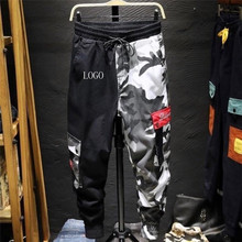 2020 Color Camo Cargo Pant Mens Baggy Cotton Trousers Hip Ho