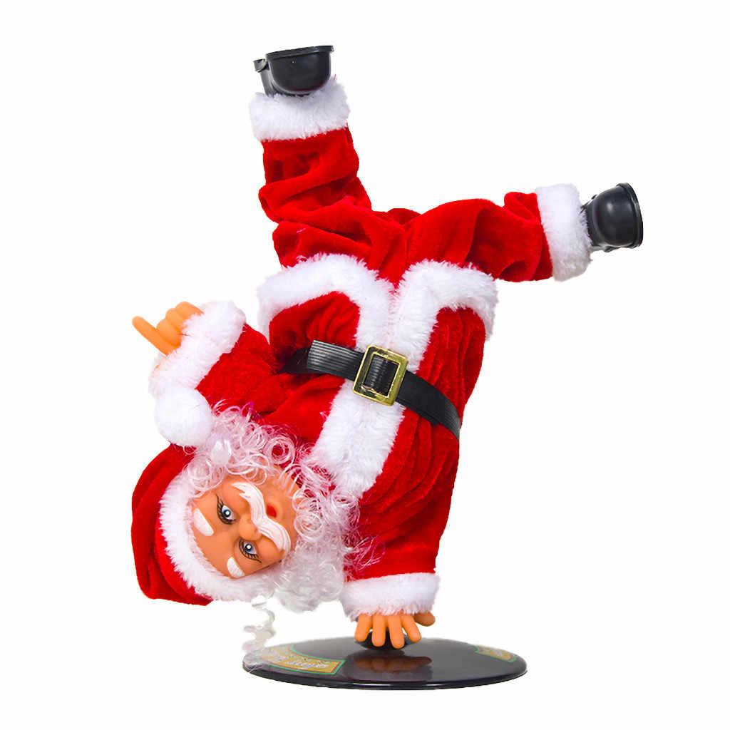 Đồ Dùng Trang Trí Giáng Sinh Cho Gia Đình Ông Già Noel Nhảy Múa Hát Búp Bê Làm Sang Trọng Đồ Chơi Âm Nhạc Cho Trẻ Em Quà Tặng Năm Mới 2020 Xmas đồ Trang Trí # Y