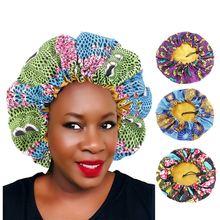 Женская шапочка для сна ankara эластичная шелковистая с большим