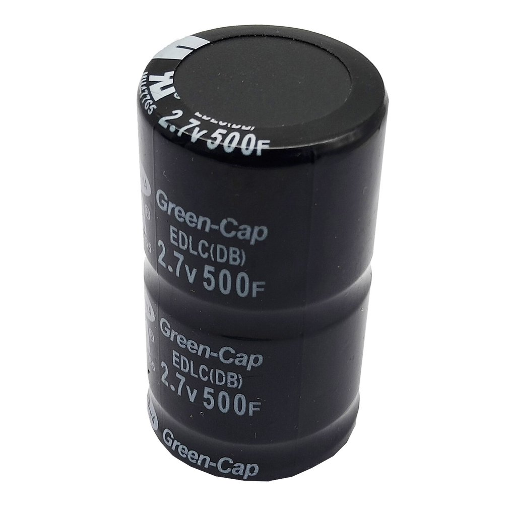 1x 2.7V 500F 35X60MM Cylindrical Ultra Super Farad Capacitor High Power Capaci