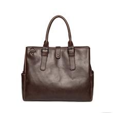 Top Designer PU Men Briefcase Bag Casual Style Business Shoulder Office Handbag Totes Male Messenger Laptop