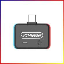 1pc/5 pces atualizar v5 rcm carregador uma carga útil bin injector transmissor para interruptor para uso do anfitrião de pc u disco jogo salvar