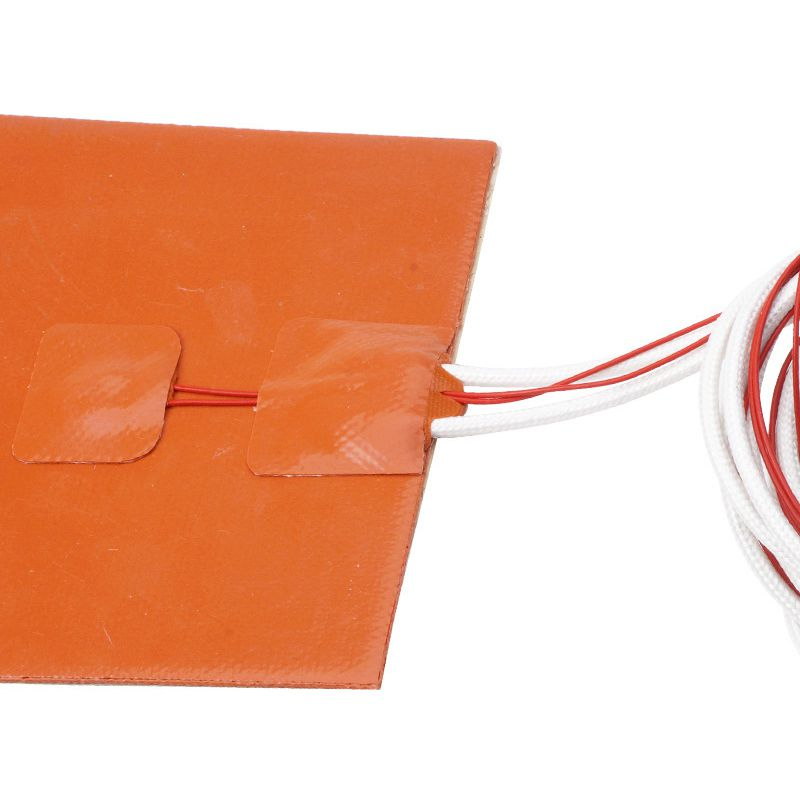 Image 5 - 120x120mm 12V 120W Silicone Heater Pad 3D Printer Heated Bed Heating Mat-in 3D Printer Parts & Accessories from Computer & Office