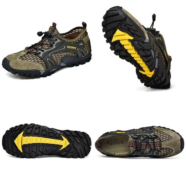 Man Hiking Shoes Non-slip Waterproof Shoes Men Women Quick Dry Sneakers Comfortable Trekking Water Shoes Multifunctional Outdoor 4