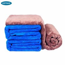 1 Uds 160*60cm Toalla de microfibra para lavado de coches paño de Secado y limpieza dobladillo paño de cuidado para coche que detalla la toalla de lavado de coches