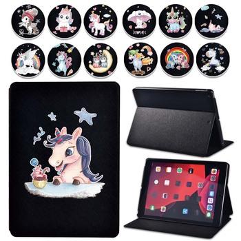 Etui na Tablet Apple IPad 2 3 4 IPad Mini 1 2 3 4 5 ipad 8 iPad Air 2 3 iPad Pro Unicorn Series odporny na wstrząsy futerał na Tablet + długopis tanie i dobre opinie Gybetty Osłona skóra 7 9 inch 9 7 inch 10 2 inch 10 5 inch 11 inch CN (pochodzenie) Drukuj Dla apple ipad Moda Odporność na spadek
