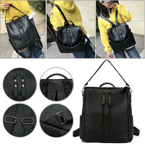Woman Youth PU Leather Backpacks Backpack High Quality for Teenage Girls Female School Shoulder Bag Fashion