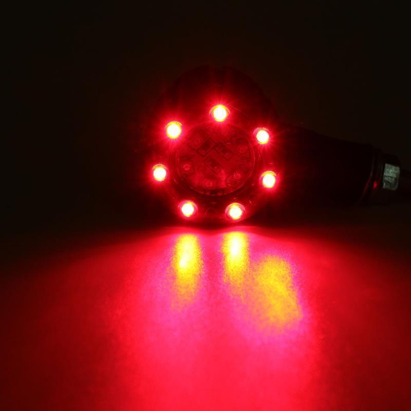2PCS Universal Motorcycle LED Turn Signal Indicators Light Brake Rear Left Right|Truck Light System| |  - title=