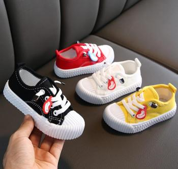 2020 Spring New Children Canvas Shoes Girls Sneakers Breathable Spring Fashion Kids Shoes For Boys Casual Sport Shoes Student