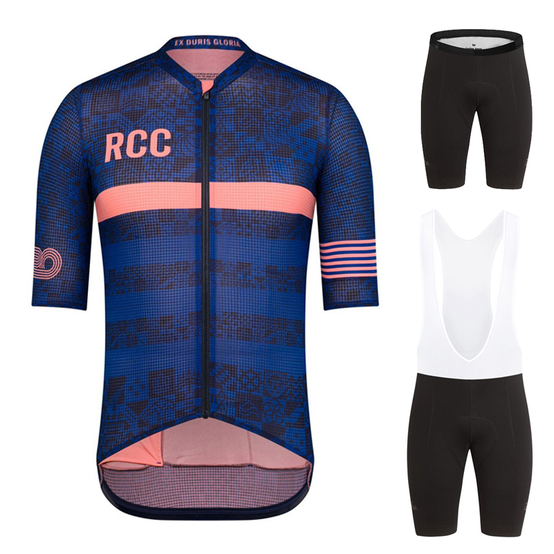 Summer New RCC Cycling Set Men Mountain Bike Clothing MTB Bicycle Wear Clothes Maillot Ropa Ciclismo Cycling Jersey Sets 2020