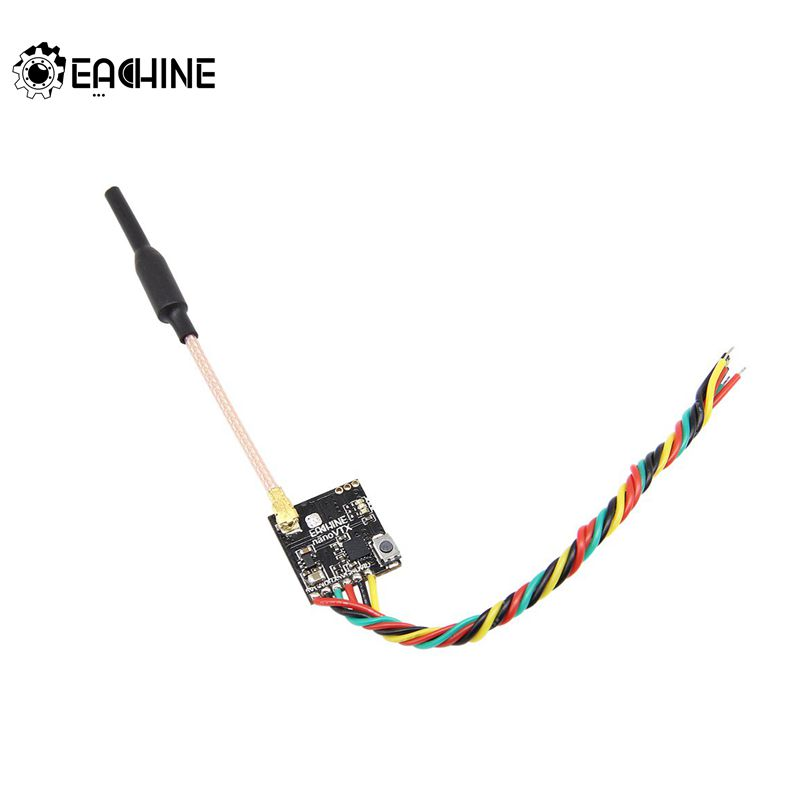 Eachine VTX 5.8GHz 48CH 25/100/200/400mW Switchable FPV Transmitter Support OSD/Pitmode/IRC Tramp