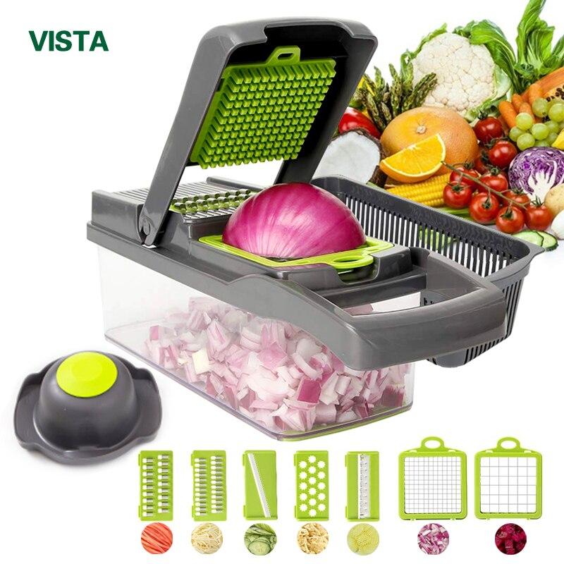 Cortador de verduras accesorios de cocina mandolina cortador de fruta pelador de patatas zanahoria rallador de queso rebanador de verduras