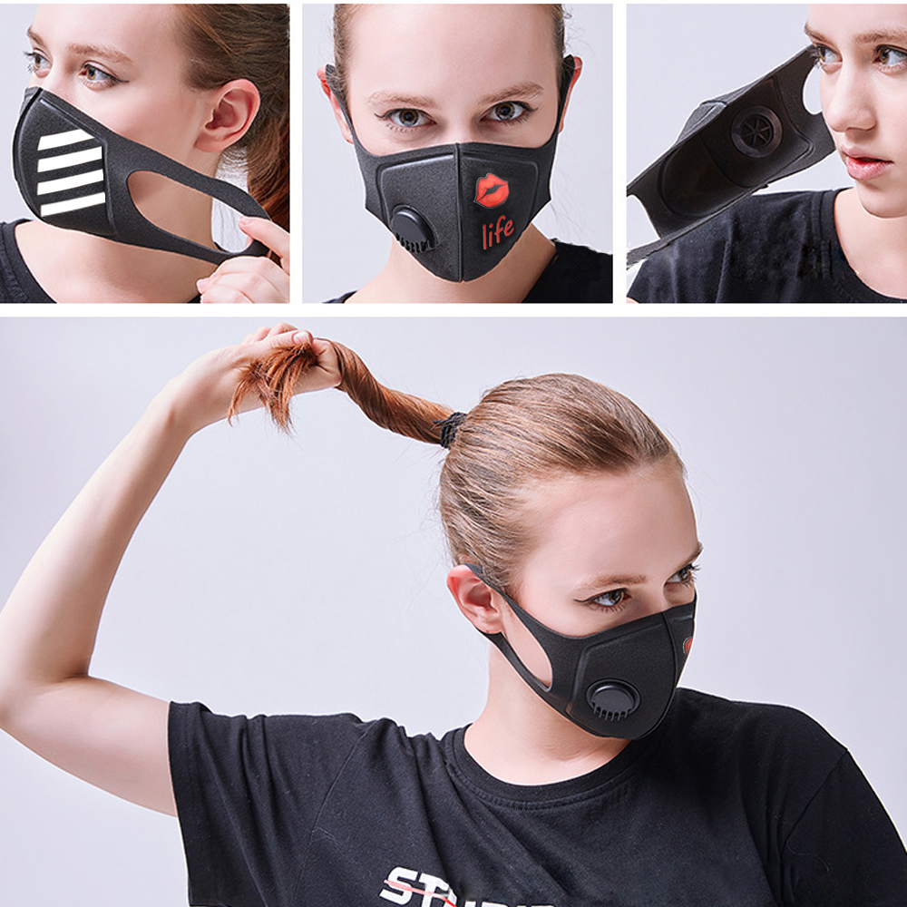 Pollution Mask Military Grade Anti Air Dust and Smoke Pollution Mask with Adjustable Straps and a Washable Respirator Mask Made 47