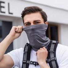 Новый велосипедный шейный платок, защита от солнца, защита от УФ-лучей, защита шеи, половинное покрытие лица, защита от пыли, защита от ветра, ...
