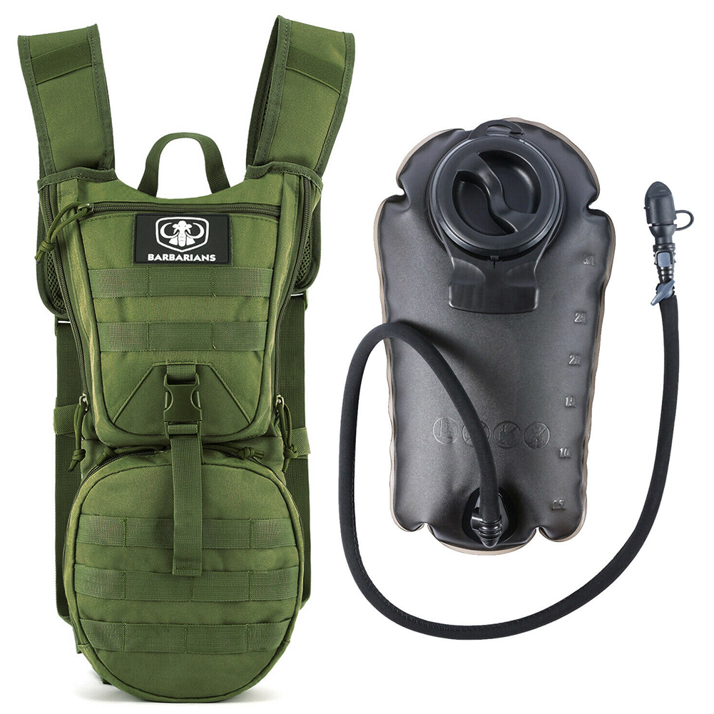 3л большая емкость походная сумка для воды спортивная Военная легкая в использовании без утечки гидратационный рюкзак для велоспорта тактическая сумка для хранения на открытом воздухе