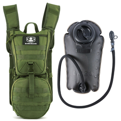 3L Large Capacity Camping Water Bag Sports Military Easy Use No Leakage Hydration Backpack Cycling Tactical Storage Outdoor