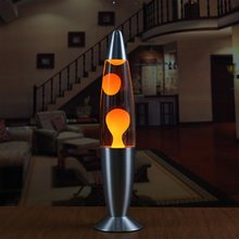 lava Wax lamps night light Volcano Style 110V Metal Base Jel