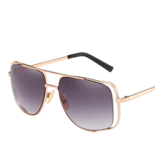 Will Frame Sun Glasses Half Hollow Out Picture Male Womens Trend Sunshade Mirror Sunglasses