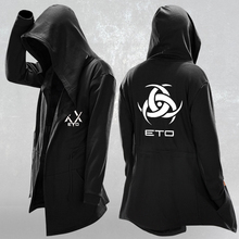 One Piece Long Sleeve Black Cloak Shawl Sweatshirts Hoodie