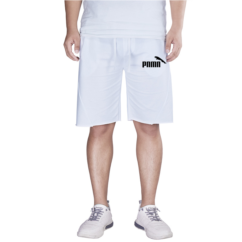 2020 Men Casual shorts Men Knee Length Cotton Shorts Patchwork Joggers Short Sweatpants Trousers Men Running Shorts