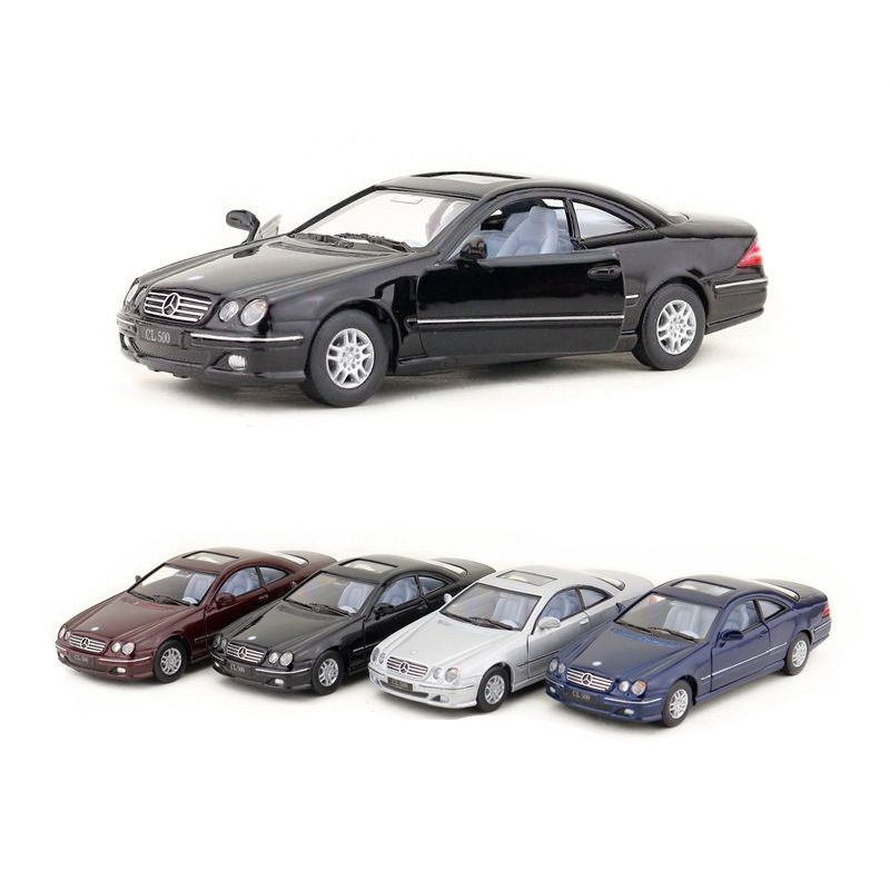 KINSMART DieCast Metal Model/1:38 Scale/CL500 Classical/Pull Back Toy Car/For Children's Gifts Or Collection/Educational