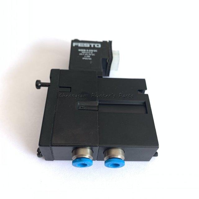 M2.184.1111/05 MEBH 4/2 QS 4 SA 4 2 Weg Magneetventiel Voor Heidelberg CD102 XL105 Pm52 XL75 Sm74 Machine onderdelen