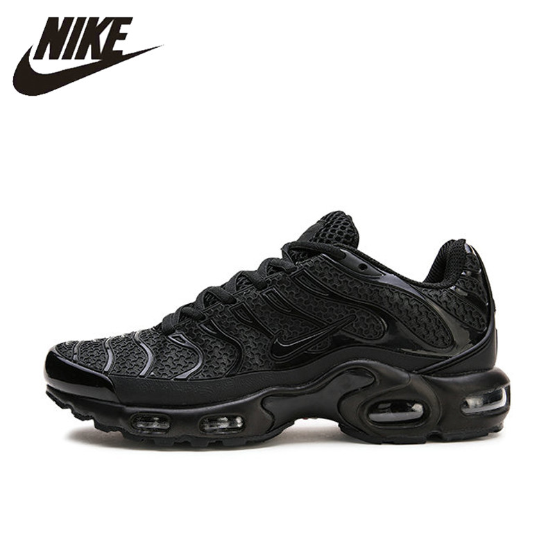 NIKE AIR MAX PLUS TN Breathable Running Shoes for Men Sports Sneakers Lace-Up Platform KPU Material Tennis 40-45 sneakers