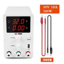 Fuente de alimentación CC ajustable para laboratorio, estabilizador de corriente Digital, fuente de banco, 30 V, 10A, 60V, 5A, 30 V, AC, 110V o 220 V
