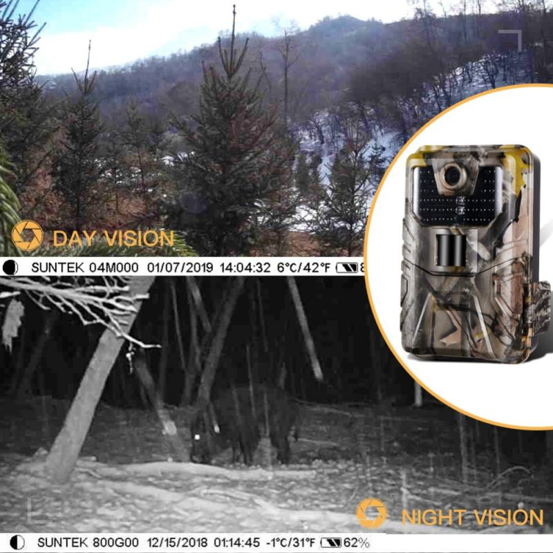 Wildlife Camera Hunting Camera  Campark Trail Game Camera 20MP 1080P Waterproof IR Hunting Trail Cameras Hunt Chasse Scout