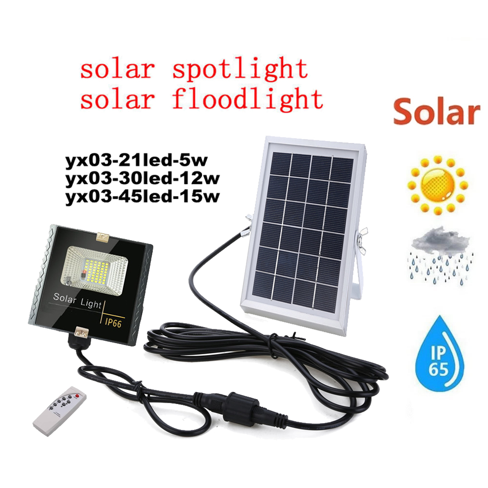 LED Solar Light Outdoor Solar Wall Light Lamp lighting for Garden Yard Path Street Solar Lamp remote timer split mount indoor ho