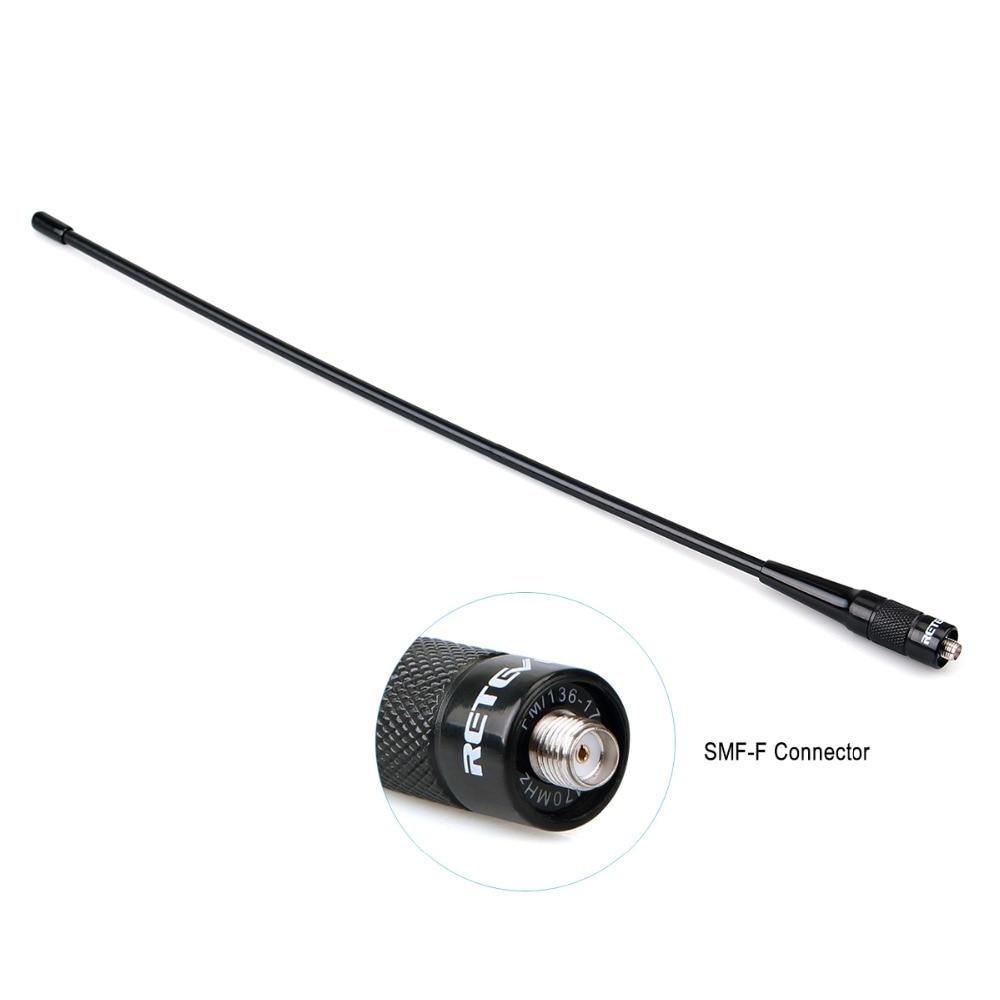 De alta ganancia Retevis RHD-771 SMA-F Antena Walkie Talkie VHF UHF de banda Dual para Kenwood para $TERM impacto Baofeng UV-5R UV-82 Bf-888S H-777 Radio