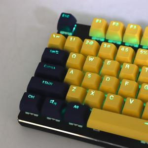 Image 5 - 104 Key SA Profile Double Shot Shine Through Dolch PBT Ball Shape Keycaps Suitable For Standard MX Switches 104 87 61