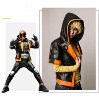 Anime Masked Rider Kamen Rider GHOST transformed form cosplay costume jacket