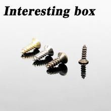 Krab Kingdom model DIY akcesoria do produkcji wkręty samogwintujące ręczne wkręty do majsterkowania multi-spec 200 tanie tanio