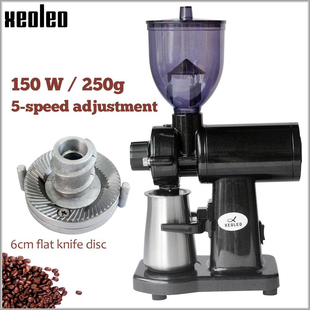 XEOLEO Italy Coffee Grinder 150W Electric Coffee Grinder Yellow/white/black Blade Coffee Miller Household Milling Machine 250g