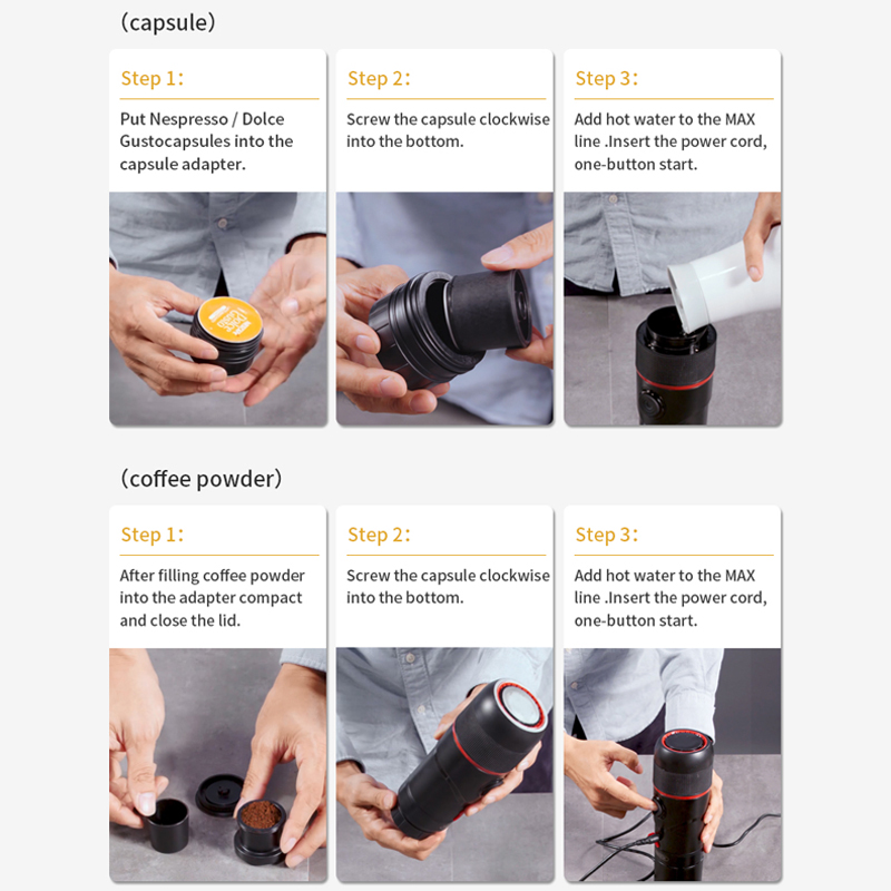 Portable Car Coffee Machine 5