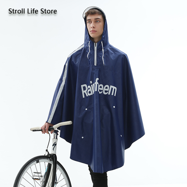 Adult Bicycle Rain Poncho Rain Coat Women Jacket Red Raincoat Men Anti- Riding Windbreaker Rainwear Capa De Chuva Gift Ideas 5