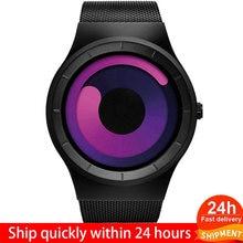 Лидирующий бренд мужские кварцевые часы повседневные из нержавеющей