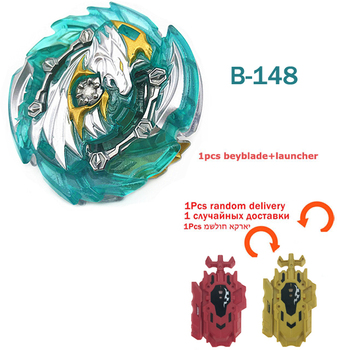 Original Beyblades Burst B-145 B-148 With Launcher Bey Blade Blades Top Spinning Toys For Children Metal Plastic Fusion 4D Gift