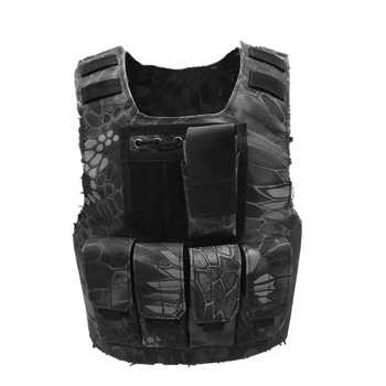 Kids Camouflage Tactical Bulletproof Vests Military Uniforms Combat Armor Army Soldier Equipment Special Forces Cosplay Costumes