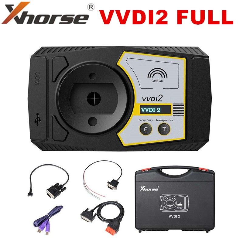 Xhorse VVDI2 полная версия всех 13 программное обеспечение для Commander ключевой программист для Audi/BMW/Porsche V6.8.2 VVDI 2