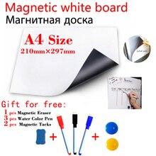 A4 Size Magnetic Whiteboard Kitchen Fridge Sticker Magnets P