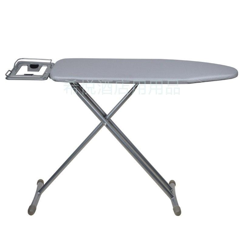 Pied en T Luxe Extra Large planche à repasser avec Repose-Fer Vapeur Pliable Gain de Place Coussin De Fer pour Hôtel Usage Domestique