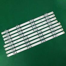 8 pièces (4 x A,4 x B), pour LG INNOTEK DRT 100% 42 pouces A/B, Type 1709B 1710B 1957E 1956E 6916l 195a 6916L 1957A, nouveauté ampoules LED